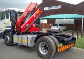 Distributor Hydraulic Crane Truck HC Industries